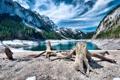 Картинка пейзаж, горы, небо, озеро
