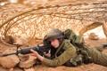 Картинка девушка, солдат, Israel Defence Force