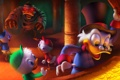 Картинка Disney, Huey, Duck Tales, Scrooge McDuck, Louie, золото, утиные истории