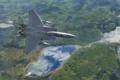 Картинка полет, ландшафт, истребитель, Eagle, тактический, «Игл», F-15C