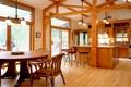 Картинка дизайн, дом, стиль, вилла, интерьер, кухня, столовая