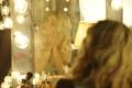 Картинка девушка, зеркало, певица, Britney Spears, лампочки, Бритни Спирс