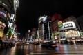 Картинка city, lights, Япония, освещение, Токио, road, cars