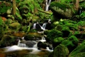 Картинка ручей, камни, природа, водопад