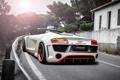 Картинка авто, Audi, тюнинг, Spyder, задок, V10, Regula