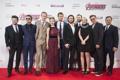 Картинка Scarlett Johansson, актеры, Mark, Robert Downey Jr., Chris Hemsworth, Jeremy Renner, Chris Evans