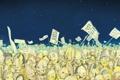 Картинка небо, звезды, мертвецы, Matei Apostolescu, плакаты, Dead, бунт