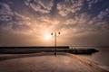 Картинка светльник, вечер, море