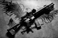 Картинка винтовка, карабин, фон, штурмовая, полуавтоматическая