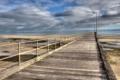 Картинка море, пейзаж, мост
