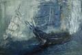 Картинка корабль, мачта, живопись, маслом