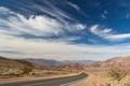 Картинка дорога, облака, степь