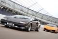 Картинка Lamborghini, Gallardo, передок, суперкары, Countach
