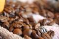 Картинка кофе, зерна, рассыпанные