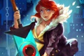 Картинка sword, Red, Transistor, Supergiant Games
