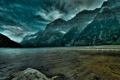 Картинка небо, пейзаж, горы, природа
