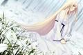 Картинка девушка, насроение, аниме
