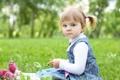 Картинка деревья, дети, детство, стиль, парк, ребенок, сад