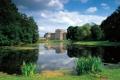 Картинка облака, город, озеро, фото, замок, Германия, Ludwigslust