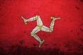 Картинка Англия, флаг, Великобритания, эмблема, герб, остров Мэн, Коронное владение Британской короны