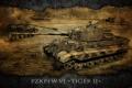 Картинка Германия, арт, танк, танки, WoT, тигр 2, World of Tanks