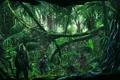 Картинка лес, деревья, джунгли, солдат, снайпер
