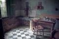 Картинка стол, стул, кухня, посуда