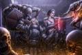Картинка монстры, маг, броня, битва, blizzard, rpg, Diablo III: Reaper of Souls