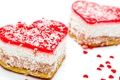 Картинка heart, пирожное, еда, cheesecake, любовь, чизкейк, love