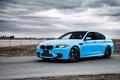 Картинка BMW, Тюнинг, Бумер, БМВ, Голубой, Tuning, F10