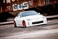 Картинка белый, Nissan, white, ниссан, 350Z