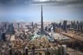Картинка облака, горизонт, Дубай, улицы, Бурдж-Халифа