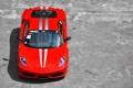 Картинка F430, Ferrari, red, бетон, феррари, красная