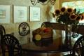 Картинка подсолнухи, стол, мебель, стулья, окно, картины, овощи