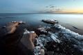 Картинка пейзаж, природа, озеро, лёд