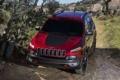 Картинка car, red, auto, wallpapers, suv, Jeep, Trailhawk