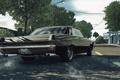 Картинка город, гонка, занос, автомобиль, Pontiac GTO, Need for Speed Undercover