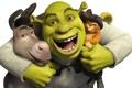 Картинка мультик, шрек, анимация, кот в сапогах, осел, Shrek