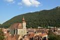 Картинка горы, крыши, панорама, Romania, Румыния, Brasov, Брашов