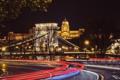 Картинка ночь, город, собор, храм, архитектура, Венгрия, Будапешт