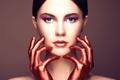 Картинка макияж, портрет, beautiful young woman