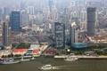 Картинка город, фото, дома, небоскребы, сверху, Китай, Шанхай