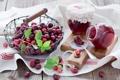 Картинка клюква, джем, ягоды