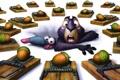 Картинка ловушка, орехи, крыса, Белка 3D, The Nut Job