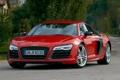 Картинка красный, Audi, ауди, red, supercar, V10