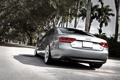 Картинка пальмы, Audi, ауди, улица, серебристый, silvery