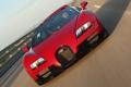 Картинка красный, Roadster, автомобиль, Bugatti Veyron, гиперкар, Grand Sport, Vitesse