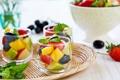 Картинка фрукты, мята, десерт, fruit, dessert, mint, фруктовый салат
