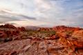 Картинка облака, небо, природа, каньон, песчаники, пейзаж