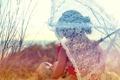 Картинка девушка, настроение, зонт